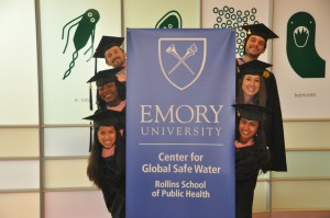 <p>2014 WASH Certificate Students. Photo by Marissa Gallegos.</p>
