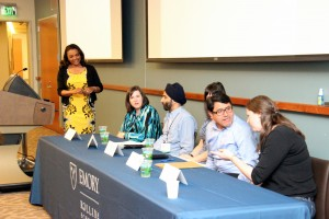 <p>Panel discussion for World Water Day 2016, Flint water: What happens When Regulations Fail? Moderated by Dr. Joanne McGriff.</p>